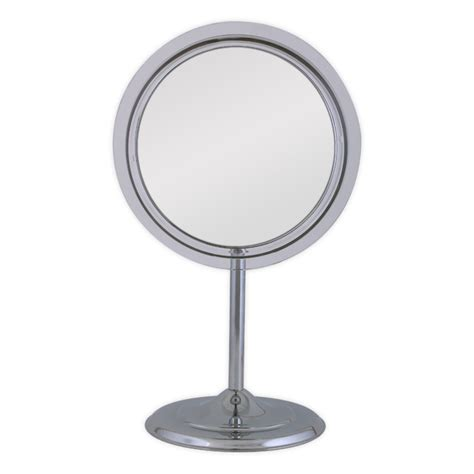 Zadro Vanity Mirror by Zadro Surround Light Pedestal Vanity Mirror 5x