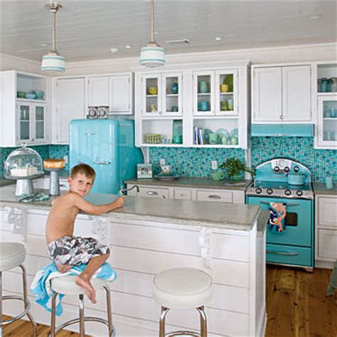Yellow Kitchen Aid Mixer - new england fine living tiffany blue and teal blue rooms