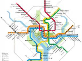 Metro Dc Map by Navigating Washington Dc With Metro Washington Org