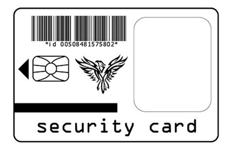 security card template security card free vector psd flash jpg www