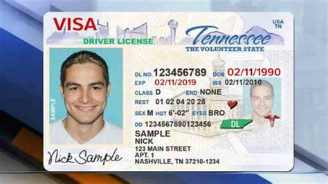 tennessee drivers license template tn drivers license pictures to pin on pinsdaddy