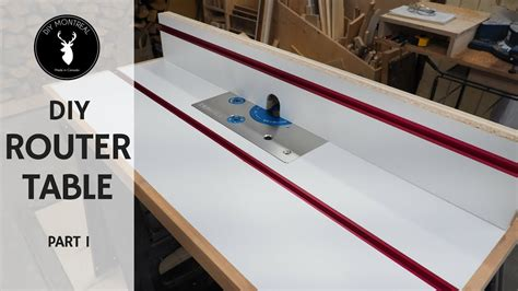 router table  fence diy router table build part