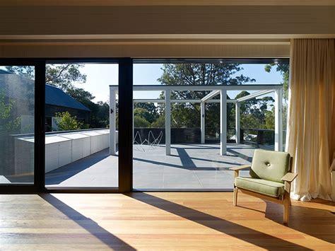 Big Glass Door Gallery Of B E Architecture 3