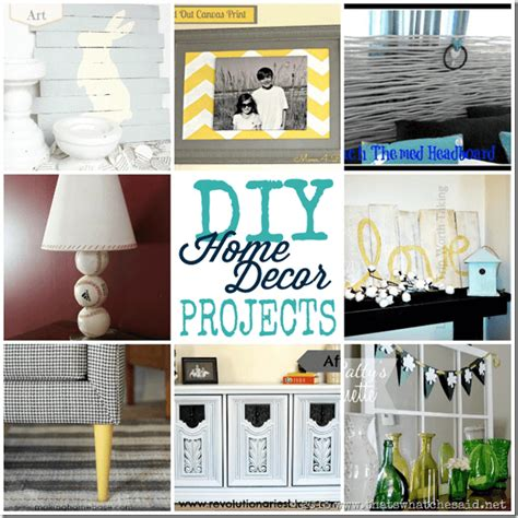 20 diy home decor ideas link party features i heart diy home ideas monday funday link party that s what