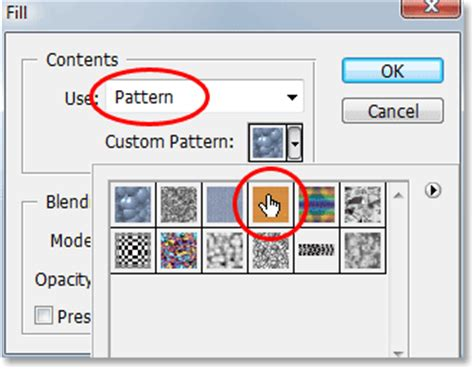 texture fill dialog digunakan untuk create a wood picture frame in photoshop