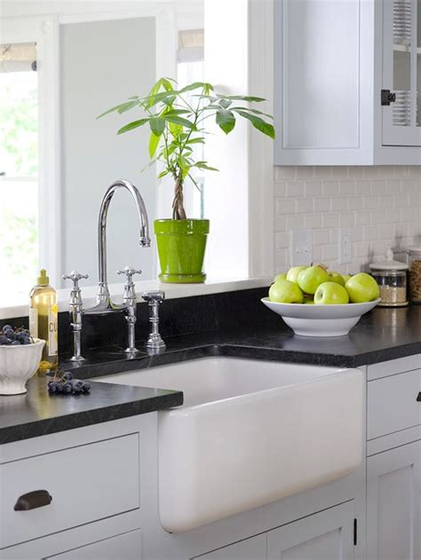 White Kitchens With Black Countertops by The Colour Trend For Countertops Killam