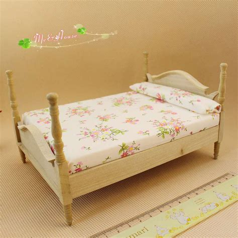 Bedroom Expressions Dollhouse Bed 1 12 Dollhouse Miniature Furniture Bedroom
