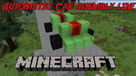 minecraft working car how to working car in minecraft no mods