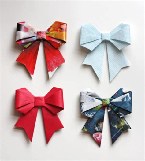 Cool Origami Crafts - 31 things to make with leftover wrapping paper page 5 of