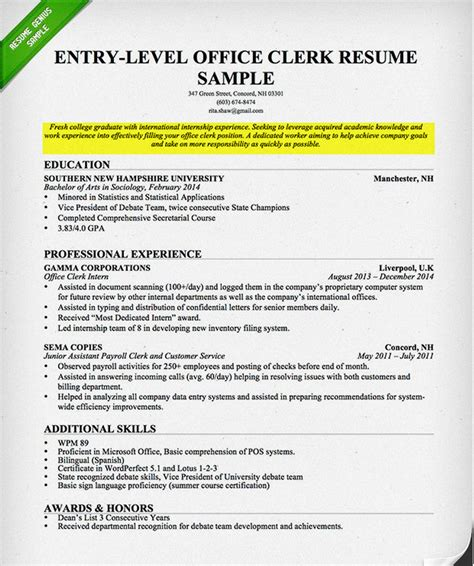 resume introduction examples new cv resume objective examples