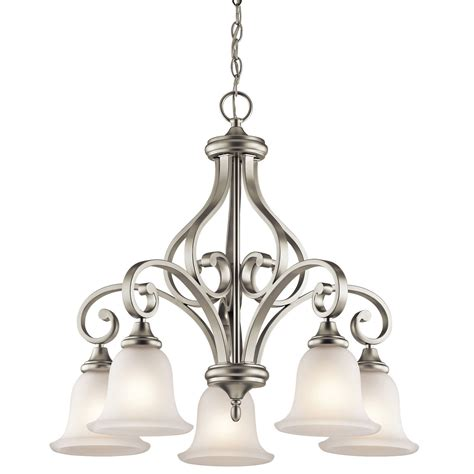 Brushed Nickel Chandelier 53043158ni 1 1
