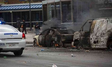 Police targeted, stores looted in Baltimore riots   World