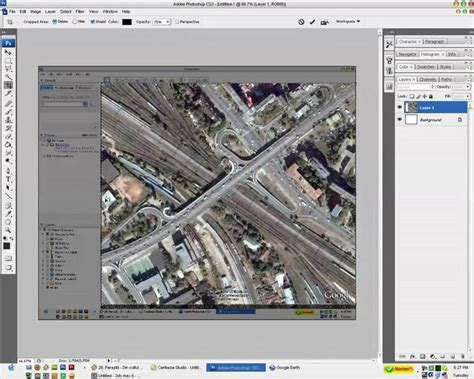 tutorial video google earth rts tutorial how to import images from google earth into