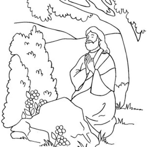 coloring pictures of jesus praying coloring pages of jesus praying the art jinni