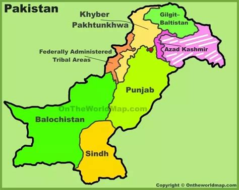 where is pakistan on the map does pakistan show kashmir in its map