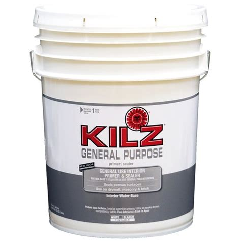 Garage Floor Paint 5 Gallon Kilz 1 Part Epoxy Concrete And Garage Floor Paint White