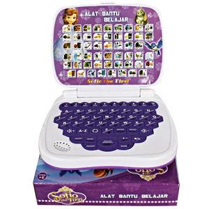 Mainan Edukasi Laptop Mini 4 Bahasa Frozen laptop mainan bahasa arab mainan anak perempuan