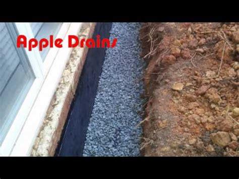 how to basement waterproofing diy exterior wall