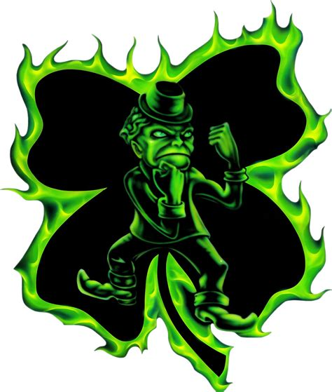 fighting irish hood decal truck vinyl graphics