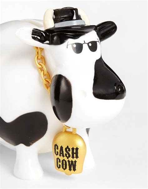 cow money bank gifts cow money bank at asos