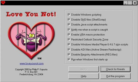 imagenes del virus i love you love you not 1 10 download