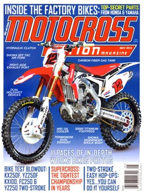 motocross magazine website motocross magazine covers date cover