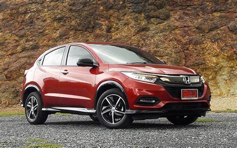 honda hr   rs facelift  review bangkok post auto