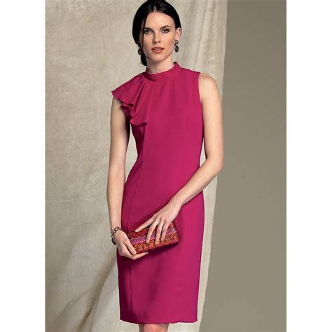 drape neck dress pattern misses and misses petite asymmetrical draped neck dress