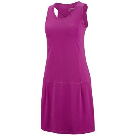 columbia sportswear splendid summer tank dress upf 30 built in bra sleeveless for