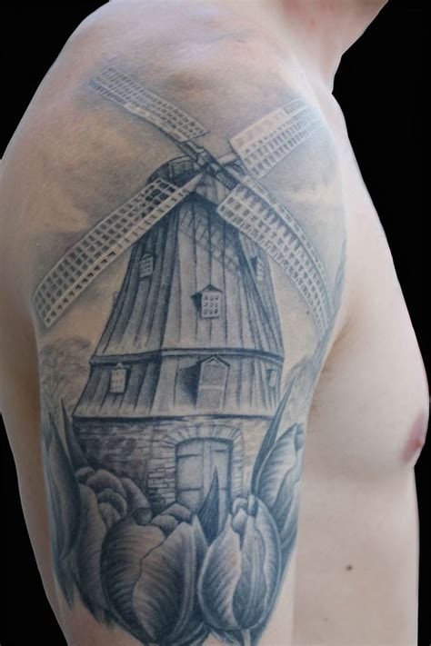 windmill tattoo 25 enduring windmill tattoos tattoodo