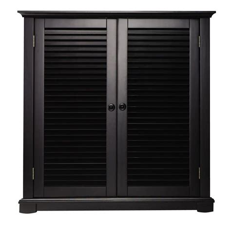 home depot shoe storage home decorators collection shutter 35 in w worn black 2