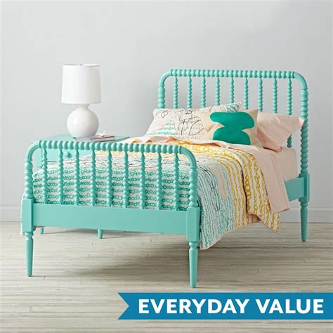 Lind Headboard by Lind Bed Teal The Land Of Nod