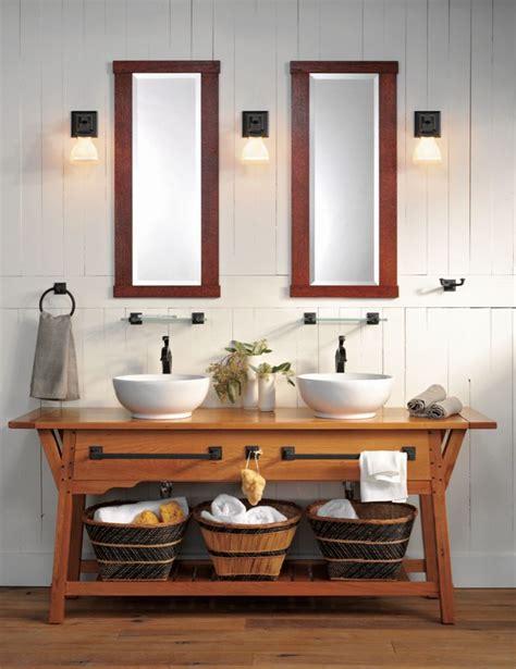 arts and crafts bathroom lighting rejuvenation modern craftsman bath ccw likes