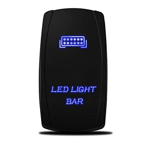 laser led light bar mictuning laser led light bar rocker switch on 20a 12v