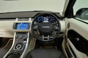 Land Rover Evoque Interior Land Rover Range Rover Evoque Interior Autocar