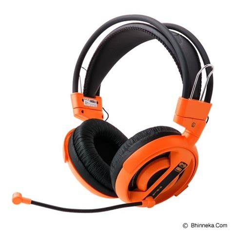 E Blue Cobra Gaming Headset Orange 1 jual gaming headset e blue cobra gaming headset orange merchant gaming gear lengkap