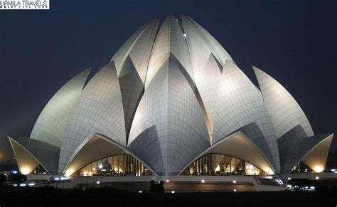 What Is Lotus Temple Made Up Of Visit Bahai Temple Lotus Temple Delhi Kamal Mandir Delhi