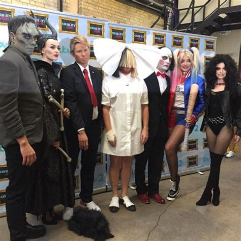 celebrity juice halloween special holly holly willoughby terrified in celebrity juice prank