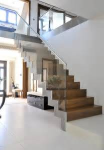 contemporary staircases 25 best ideas about modern staircase on pinterest