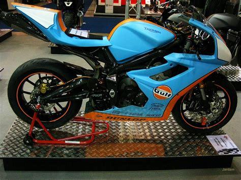 gulf racing motorcycle triumph daytona 675 gulf livery gulf livery