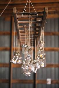 Diy Rustic Chandelier How To Decorate Your Vintage Wedding With Seemly Useless Ladders Tulle Chantilly Wedding