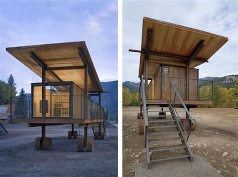 mobile hu prefab friday tom kundig s mobile rolling huts