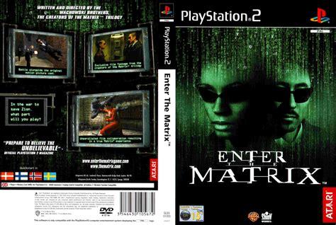 Ps2 Matrix covers box sk enter the matrix ps2 high quality dvd blueray