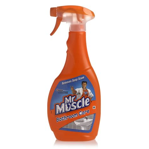 mr clean bathroom products mr muscle bathroom care spray 500ml at wilko com