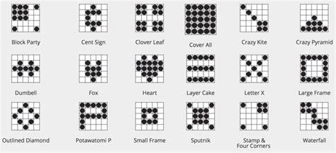 bingo pattern exles say quot bingo quot at potawatomi potawatomi hotel casino