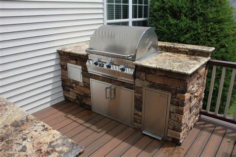 Kitchen Cabinets Diy Plans by Choosing Between An Outdoor Kitchen Deck And An Outdoor