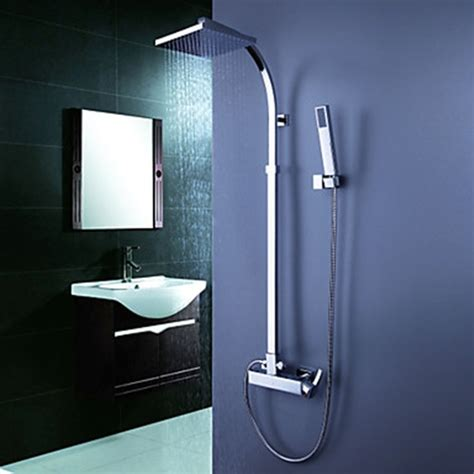 shower head for bathtub faucet contemporary tub shower faucet with 8 inch shower head