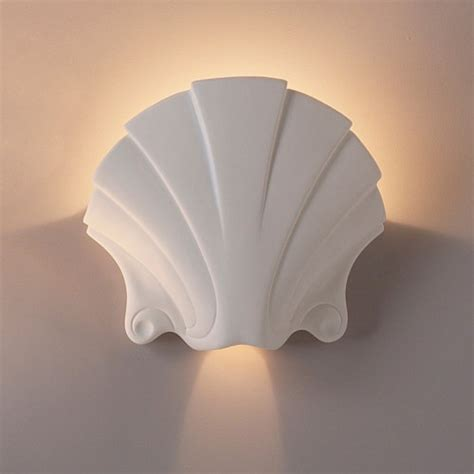 Seashell Sconce 17 quot seashell themed sconce traditional interior wall lights sconces interior wall lights