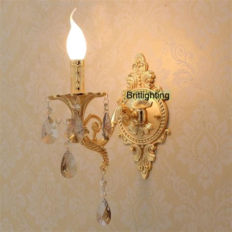 gold crystal wall lights led wall lights vanity light luxury gold wall l