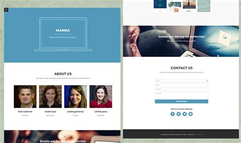65 free responsive html5 css3 website templates